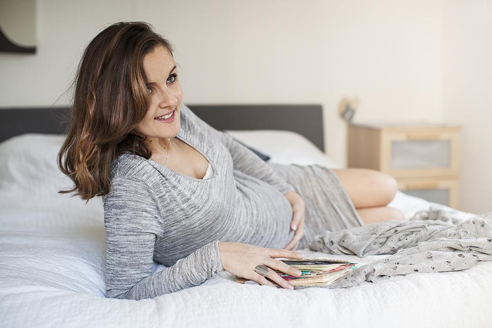 Marie Clair zwangercover