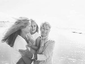 3 generaties vrouwen